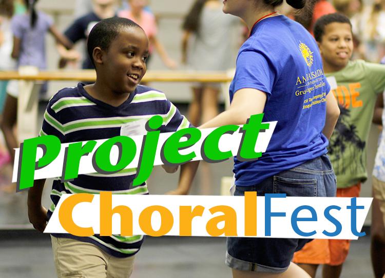 Project Choral Fest Button