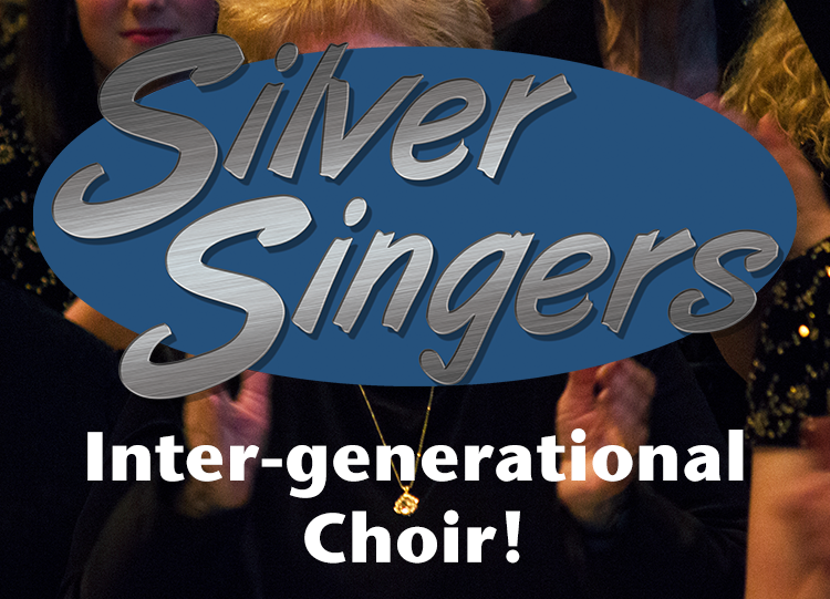 Silver Singers Button
