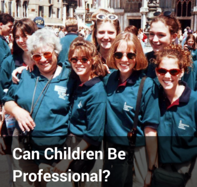 Can Children Be Professional?