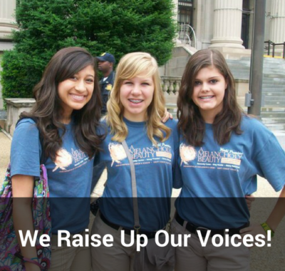 We Raise Up Our Voices!