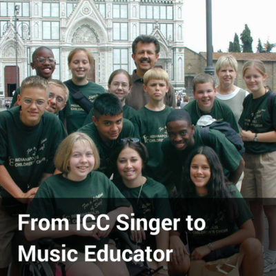 From ICC Singer To Music Educator